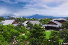 Part of Nijo Castle in Kyoto, Japan